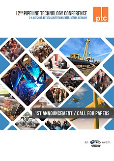 Pipeline Technology Conference 2017 - Call for Papers