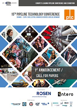 Call for Papers Pipeline Technology Conference 2020