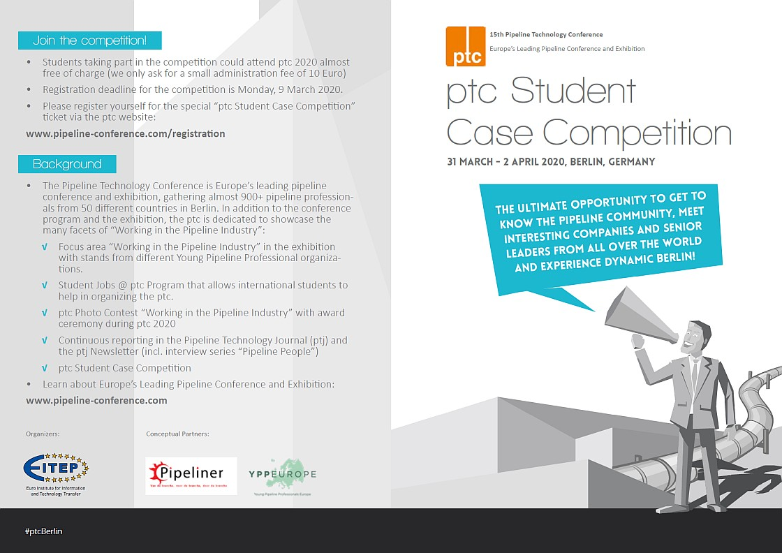 ptc 2020 Student Case Competition Flyer