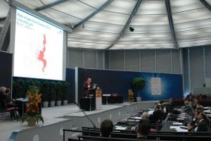 Presentation of Prof. Dr. Homann during ptc 2009