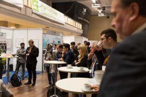 ptc 2018 - Interview Round Table within the exhibition hall (© 2018 Philip Wilson)