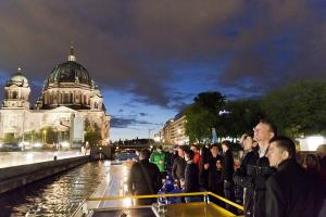 "ptc 2014 - boat trip ""Berlin at night"" sponsored by NDT Global (© 2014 Dennis Fandrich)"