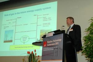 Presentation of Dr. Jürgen Lenz of E.ON Ruhrgas during ptc 2011