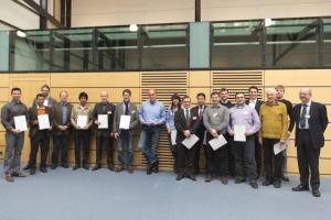 "Participants of the ptc 2013 seminar ""In-Line Inspection of Transmission Pipelines"""