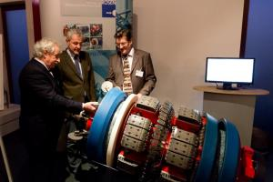 Rosen hands over new exhibit for German Oil Museum during ptc 2013