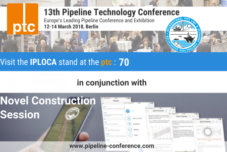 IPLOCA at Pipeline Technology Conference 2018