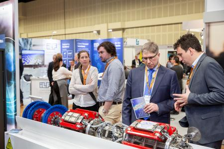 Exhibitors get to offer their latest technologies and solutions to pipeline operators  from all over the world (© 2019 Philip Wilson / EITEP)