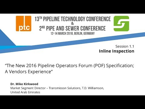 "Embedded thumbnail for ptc 2018 - Focus on ""Pipeline Operators Forum (POF)"""