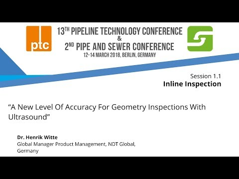 "Embedded thumbnail for ptc 2018 - Focus on ""Geometry Inspections With Ultrasound"""